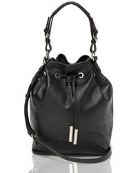 Tommy Hilfiger Leather Bucket Bag
