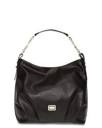Liz Claiborne Hallmark Hobo Bucket Bag Black