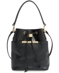 Ted Baker London Large Ersilda Leather Bucket Bag