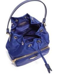 28ed6942704066 Prada Mini Nylon Leather Bucket Bag, $545 | Saks Fifth Avenue ...
