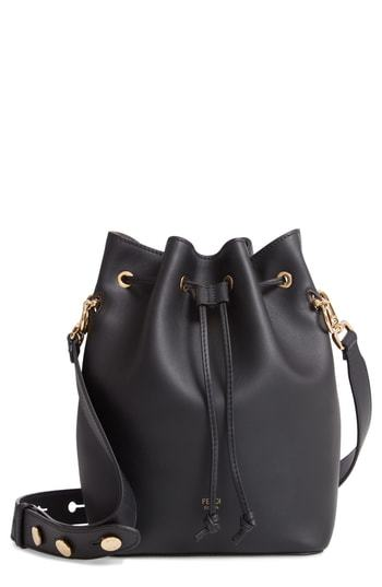 Fendi Mon Tresor Logo Bucket Bag