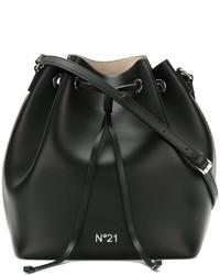 No.21 No21 Logo Bucket Shoulder Bag