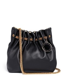 Stella McCartney Noma Curb Chain Eco Leather Bucket Bag