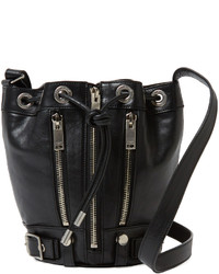 Rider Leather Small Bucket Bag