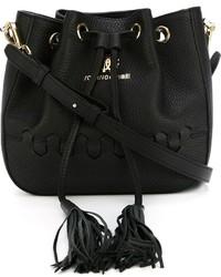 Roberto Cavalli Regina Bucket Crossbody Bag