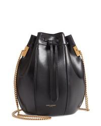 Saint Laurent Small Talitha Leather Bucket Bag