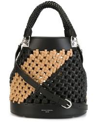 Sonia Rykiel Woven Bucket Bag