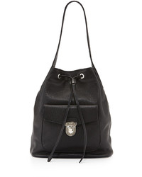 4327c68317 Women's Black Leather Bucket Bags by Prada | Women's Fashion ...