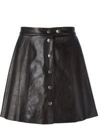 Sea buttoned a line skirt medium 373697