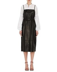Robert Rodriguez Leather Cami Dress