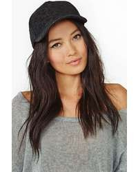 Nasty Gal Slick Up Quilted Cap