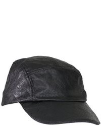 BCBGeneration Perforated Leather Look Baseball Hat