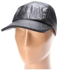 BCBGeneration Perforated Leather Look Cap