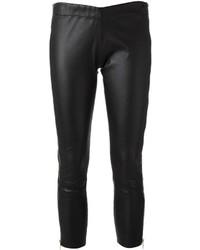 Les Claires Zip Detail Crop Trouser