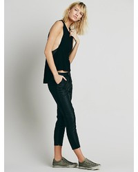 Free People Mid Rise Vegan Crop