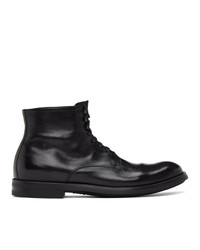 Officine Creative Black Academia 3 Boots