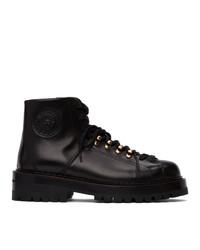 Versace Black Alpine Boots