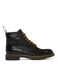 Polo Ralph Lauren Black Army Boots