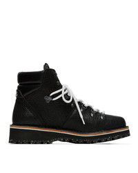 Ps By Paul Smith Black Ash Hiking Boots