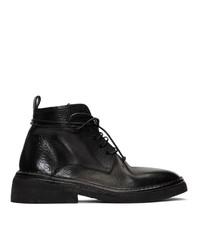 Marsèll Black Burraccia Anfibio Boots