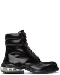 Maison Margiela Black Calfskin Ankle Boots