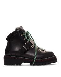 Versace Black Calfskin Boots
