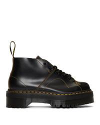 Dr. Martens Black Church Quad Boots