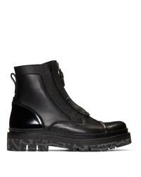 Ermenegildo Zegna Black Couture Show Boots