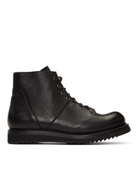 Rick Owens Black Creeper Sole Boots