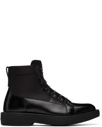 Salvatore Ferragamo Black Econyl Compact Boots