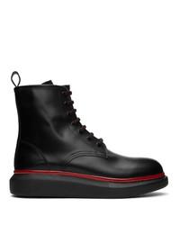 Alexander McQueen Black Hybrid Boots