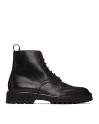 Kenzo Black K Mount Boots