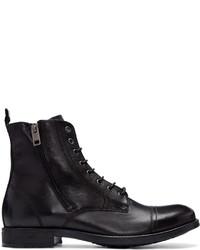 Black leather d kallien boots medium 827964