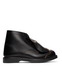 Comme Des Garcons Homme Plus Black Safety Boots