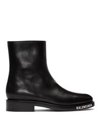 Balenciaga Black Soft Boots