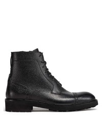 Ermenegildo Zegna Brogue Detail Ankle Boots
