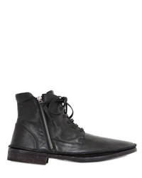 Bruno Bordese Zipped Laced Leather Boots