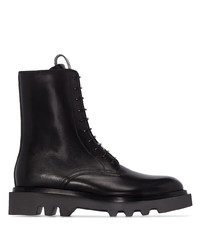 Givenchy Combat Lace Up Ankle Boots