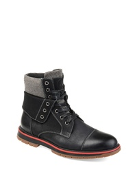 THOMAS AND VINE Cyrus Fold Down Lugged Boot