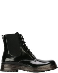 Dolce & Gabbana Lace Up Boots