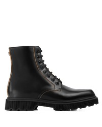 Gucci Double G Combat Boots