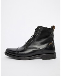 a8300d76362 Men's Black Leather Casual Boots by Levi's | Men's Fashion ...