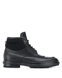 Ermenegildo Zegna Flat Lace Up Boots