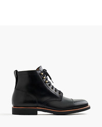 J.Crew Kenton Leather Cap Toe Boots