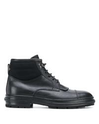 Ermenegildo Zegna Lace Up Ankle Boots