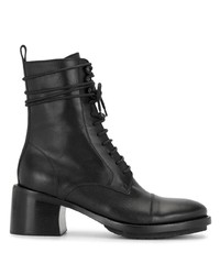 Ann Demeulemeester Lace Up Ankle Boots