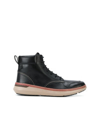 Armani Jeans Lace Up Ankle Boots