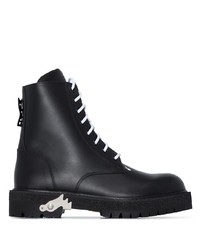 Off-White Lace Up Combat Boots