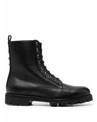 Philipp Plein Lace Up Combat Boots