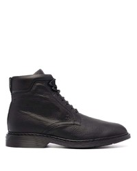 Hogan Lace Up Leather Boots